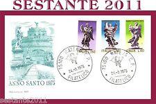 ITALIA FDC CAPITOLIUM 260 ANNO SANTO 1975 ANNULLO MATERA C33