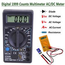 DT830B Digital LCD Voltmeter Ammeter Ohmmeter Multimeter Volt AC/DC Meter Tester