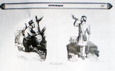 1840 MICHELETTI Miguel o Miquelot Spagna -incis.Morgese