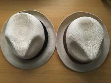 STANTON HAT ST03 100% HEMP Trilby Size: S / M  Brown or Black Trim  FREE POSTAGE