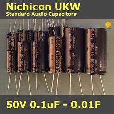 Nichicon UKW KW Standard for Audio [50V] Capacitors