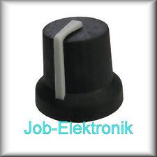Drehknopf Potiknopf Drehknöpfe Stellknopf Einstellknopf für 6mm Achse s3sg