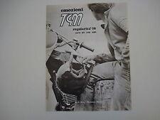 advertising Pubblicità 1978 MOTO TGM REGOLARITA' 50/125/250