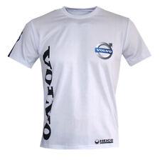 Volvo logo white high quality logos and graphics men's t-shirt