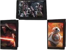 Official Star Wars 7 Force Awakens 3D Velcro Wallet Stormtrooper, Kylo Ren, BB-8