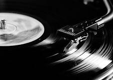 140205 RECORD PLAYER VINYL DJ DECK Wall Print Poster CA