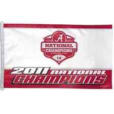 Alabama Crimson Tide 2011 National Champions 3'X5' Flag Brand New Wincraft