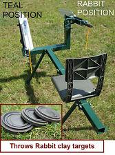 400 Argilla obiettivi, doppio braccio pieno GALLO manuale Clay Pigeon trappola argilla, Trappola DT500