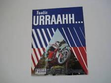 advertising Pubblicità 1981 FANTIC CROSS 125 COMPETITIO