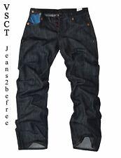 "Jeans Hose by VSCT ""TATOO CUSTOMS Jeans"" dark blue Denim Pant *Bootcut L34 *Neu"