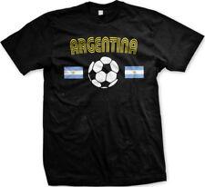Argentina National Soccer Team La Albiceleste Futbol  Selección  Mens T-shirt