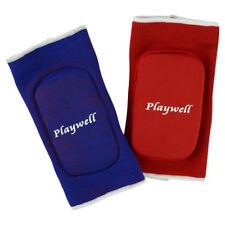 Playwell Elasticated Reversible Elbow Pads Guards Mma Krav Maga Karate Taekwondo