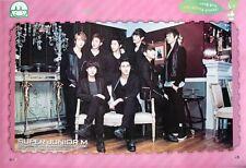 """SUPER JUNIOR """"SECOND MINI ALBUM - GROUP AROUND SOFA"""" POSTER - Korean K-Pop Music"""