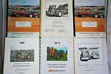 SAMSON 9 & 12 T-HM 1009 MT 908 SP-9 SP12-16 MANURE Spreader MANUAL & Parts List