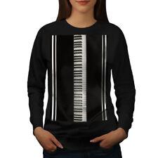 Piano Keys Keyboard Music Women Sweatshirt NEW | Wellcoda