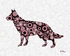 154469 Animal digital Art Wall Print Poster CA