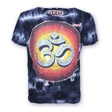 Sure 70er Retro T-Shirt OM im Batik Look