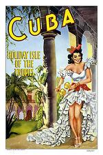 Arte cartel vendimia viajes 111 Cuba