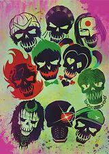 Suicide Squad Film Posters  Option 2 - A3 & A4