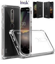 Cover for Nokia 6 2018 Case Original Imak TPU Silicone Case for Nokia 6.1