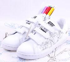Adidas AdiColor Stan Smith II CF # 562899 W4 White Goofy Limited Men SZ 10 - 14