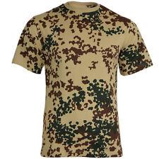 Mil-Tec Homme US Armée T-Shirt Militaire 100% Coton Tropentarn Camo S – 3XL