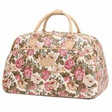 Women's Large Capacity Handbags Floral Print Travel Casual Tote Duffle Bags