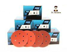 Sanding Discs 150mm 6 inch NORTON Orbital Sandpaper Pads 6 Hole  /Grit 40-240/