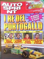 Autosprint 39 1993 Senna stop Mc Laren adesso Williams