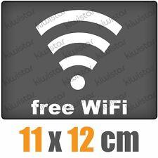 free WiFi csf0559 11 x 12 cm JDM  Sticker Aufkleber