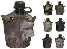 Us Cantimplora Plástico Botella Botella para Bebidas Ejército Camuflaje Tarn