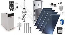Elco Straton S Heizungspaket Ölkessel Brennwertkessel Solaranlage 10m² komplett