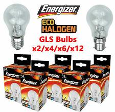 ENERGIZER 40W 60W 100 WATT GLS LED HALOGEN BULB BAYONET SCREW BC/ B22 ES/ E27