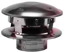 Selkirk 243800 VP Pellet Pipe 3-Inch Vertical Round Top Termination Cap
