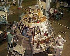 Apollo 1 Command Module CSM-012 under construction 1966 Photo Print