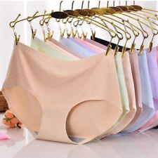 Women Panties Ice Silk Seamless Briefs Women Summer Cool Underwear Soft