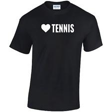 Love Tennis T-Shirt Wimbledon Player Fan Roger Federer Mens Women Gift