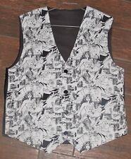 DC Comics Wonder Woman white print men's sporty vest in 8 sizes