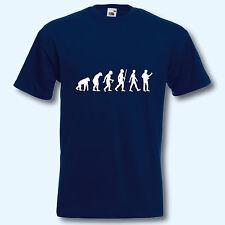 T-Shirt, Fun-Shirt, Evolution Gitarrist, Gitarre, Musik, Musiker, Motiv3, S-XXXL