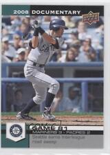 2008 Upper Deck Documentary #2641 Ichiro Seattle Mariners Suzuki Baseball Card