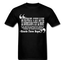 Zapatista EZLN Star Ricardo Flores Magon Quote T-shirt Tee