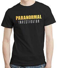 Investigador Paranormal Ghost Hunter embrujada espíritus T Shirt Camiseta Tee 200gsm