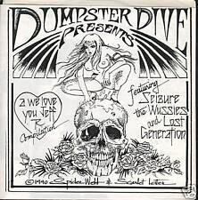 "DUMPSTER DIVE Comp 7"" Seizure Wussies PUNK 1990"