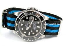 Alta Calidad Nylon balístico Correa De Reloj Para Rolex Submariner James Bond Spectre