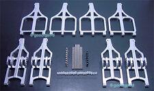 Aluminum Upper+Lower F+R Arm Fit Traxxas T maxx  .21 / 2.5 / 3.3 #4907 4908 4909