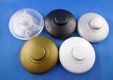 Fußschalter, Zwischenschalter, 1polig, Gold, Weiß, Schwarz, Transparent, Silber