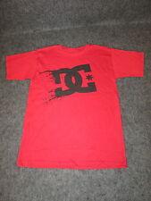 Hombre Auténtico DC Moda Informal skate bmx MX Camiseta S M L Xl Xxl Rojo { 08 }