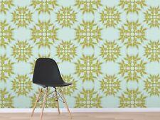 3D Snowflake Blue 118 Wallpaper Mural Wall Print Decal Indoor Murals AU Lemon