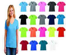 Port & Company LPC54V Ladies 100% Cotton* V-Neck T-Shirt