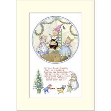 Little Jack Horner - Molly Brett - Medici Mounted Print